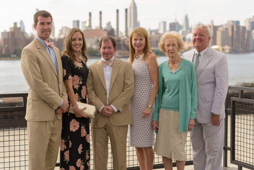 Brooklyn NY skyline wedding venue | Fairly Southern