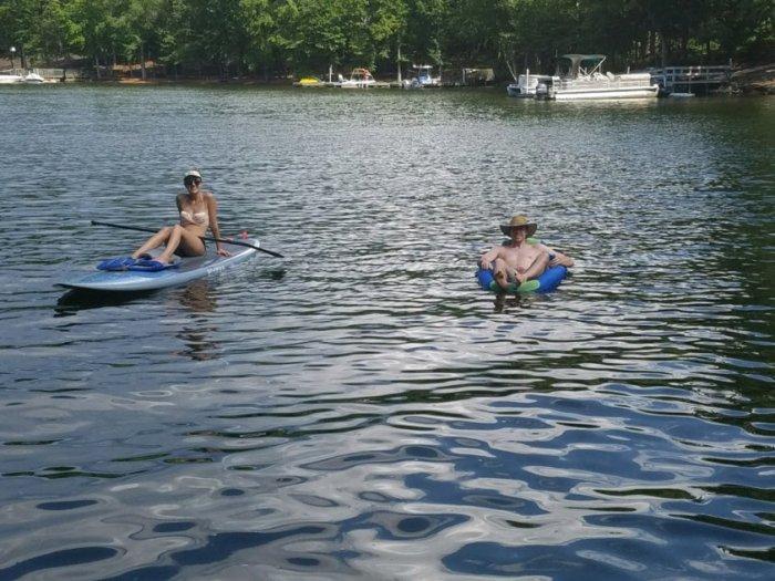 Small Joys: lazy summer lake days | Fairly Southern