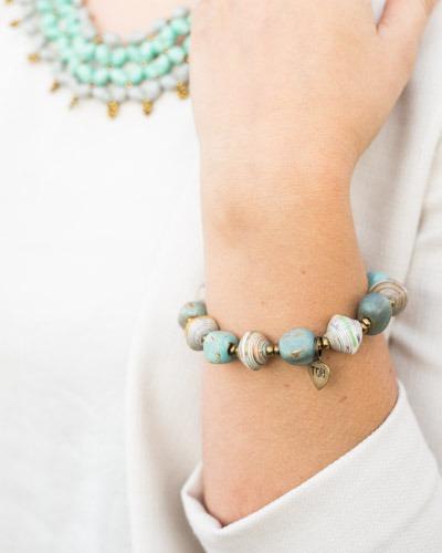 Fair trade, artisan made Faith Bracelet by Trades of Hope | Fairly Southern