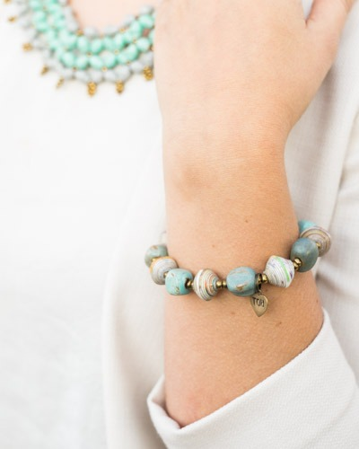 Fair trade, artisan made Faith Bracelet by Trades of Hope | Fairly Southern