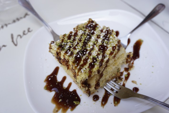 Gluten-Free Tiramisu at Mama Eat in Rome - Tips for Eating Gluten-Free in Italy | Fairly Southern