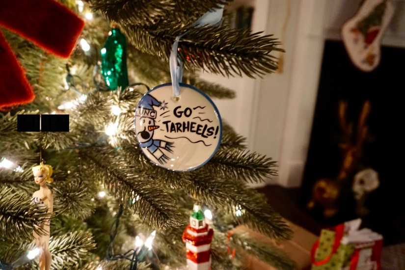 Go Tar Heels Christmas ornament | Fairly Southern