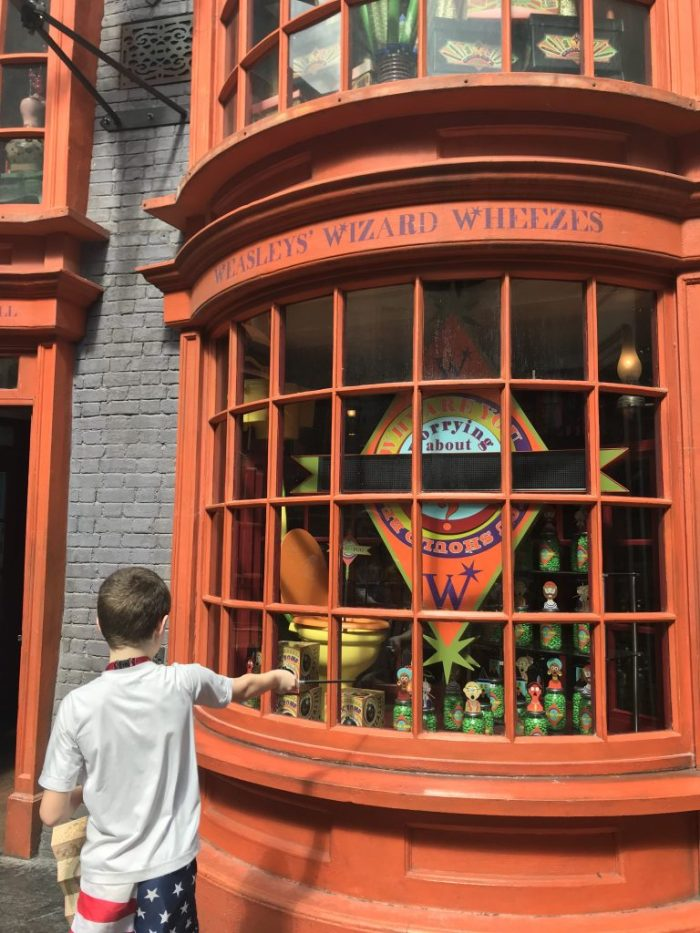 Weasleys' Wizard Wheezes at Wizarding World of Harry Potter   Fairly Southern