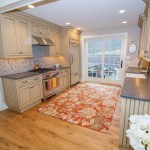 Eco-Friendly/Sustainable Beige + Orange Kitchen | Fairly Southern