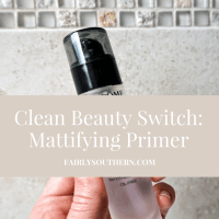"""Clean Beauty Switch: Mattifying Primer. Review of Lancome La Base Pro Primer, 100% Pure Mattifying Primer and Estee Lauder """"The Mattifier"""" Primer!   Fairly Southern"""