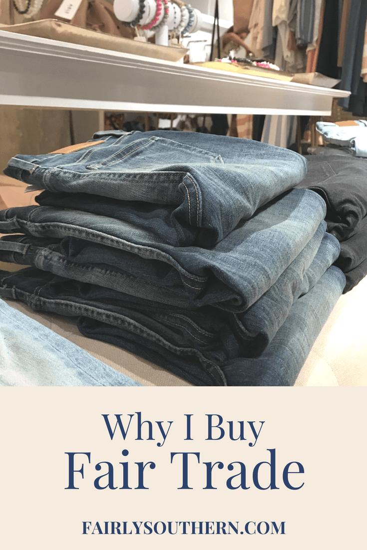 Why I Buy Fair Trade