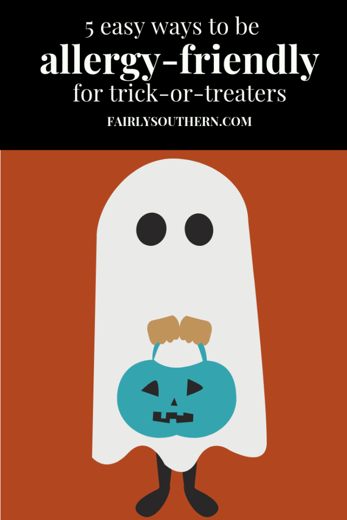 5 Easy Ways to be Allergy-Friendly for Trick or Treaters this Halloween | Fairly Southern
