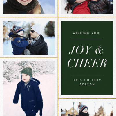 Electronic Holiday Cards: 5 Reasons to Make the Switch!