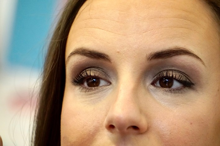 Get the Look: Holiday Glam Clean Beauty Makeover | Fairly Southern