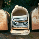 How to Declutter Your Mailbox - good for the environment and for your mental/physical health! | Fairly Southern