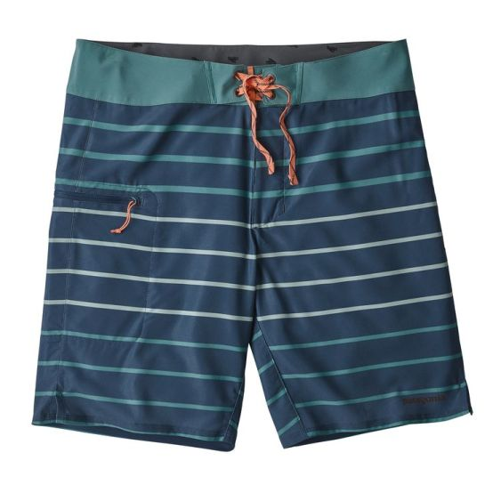 Patagonia navy and teal board shorts  |  Sustainable and Ethically Made Swimwear for Women, Men, and Kids  |  Fairly Southern
