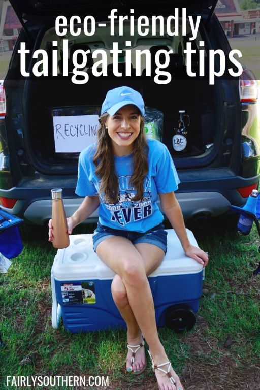 How to Have an Eco-Friendly Tailgate - sustainable tailgating tips!  |  Fairly Southern