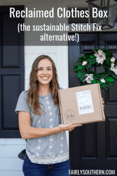 Reclaimed Clothes Box: The Sustainable Stitch Fix Alternative! | Fairly Southern