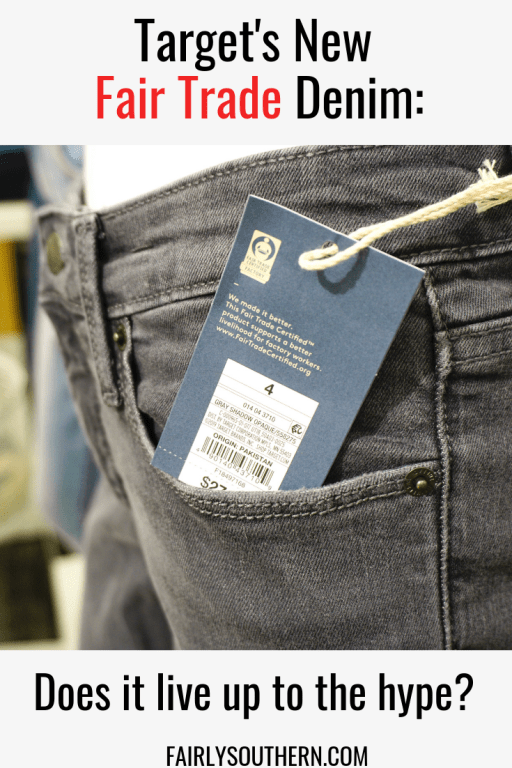 Target's new Fair Trade Denim: Does it live up to the hype? Unsponsored review! | Fairly Southern