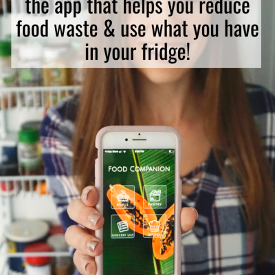 This App Helps You Reduce Food Waste: Review of the Food Companion App