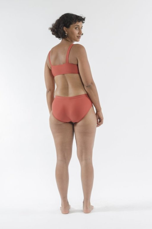 Good Studios Terra Cotta Bikini  |  Sustainable and Ethically Made Swimwear for Women, Men, and Kids | Fairly Southern