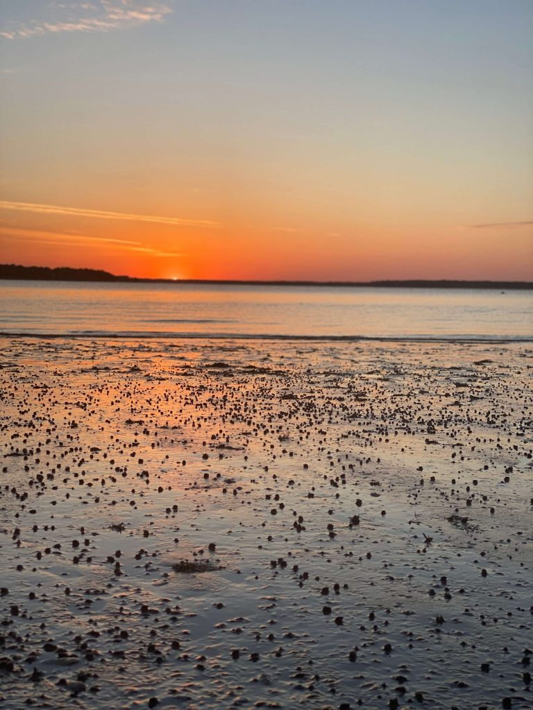 Calibogue Sound Sunset in Hilton Head Island, South Carolina  |  Fairly Southern