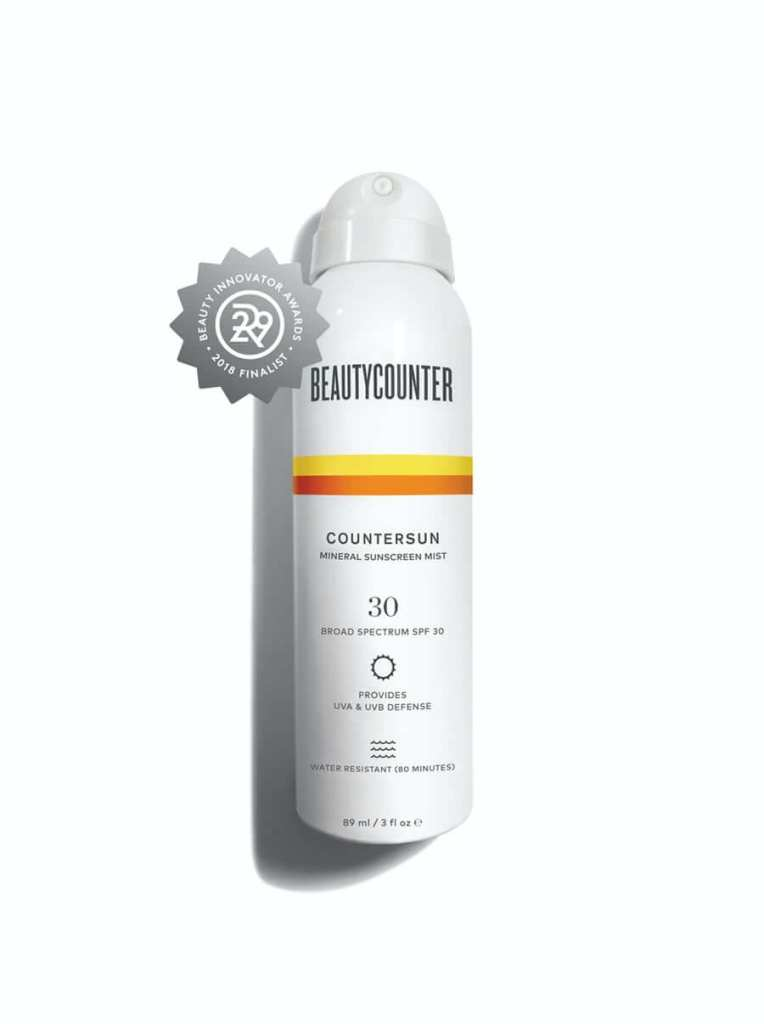 Beautycounter Spray Sunscreen - Clean Sunscreen Guide  |  Fairly Southern