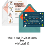 The Best Invitations for Virtual and Drive By Events | Fairly Southern