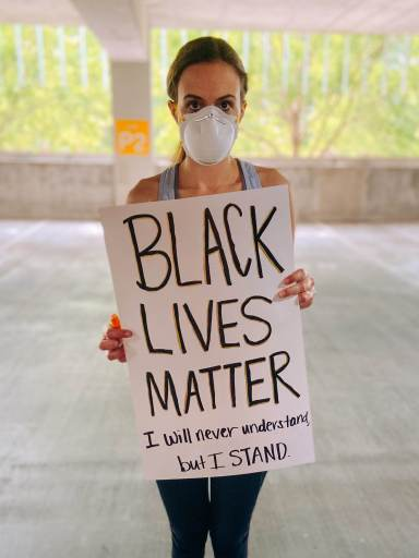 Black Lives Matter Protest Sign | Fairly Southern