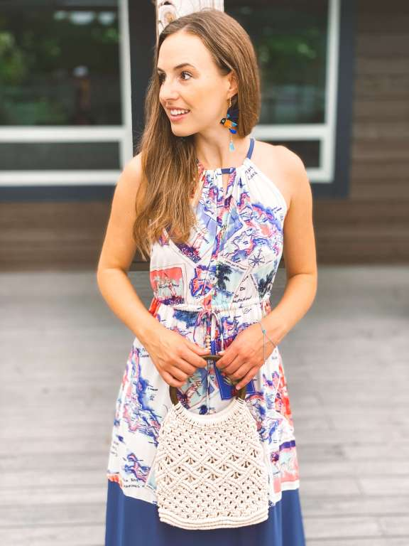 Vacation Outfit Inspiration | Belle + Blossom Review: Fair Trade, Sustainable Accessories and Lifestyle | Fairly Southern