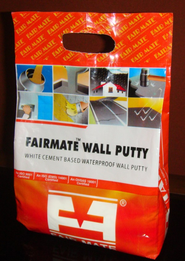 Wall Putty Usage - Year of Clean Water