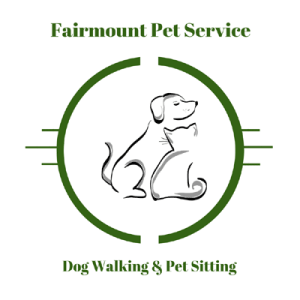 Variation of my pet sitting and dog walking logo with additional graphic elements