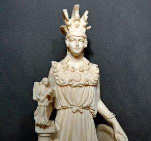Goddess Athena - strange name for a female dog though.