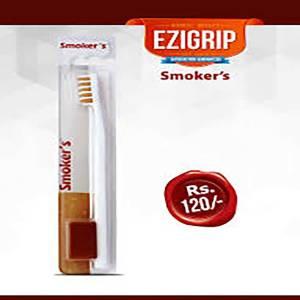 ezigrip smoker tooth brush