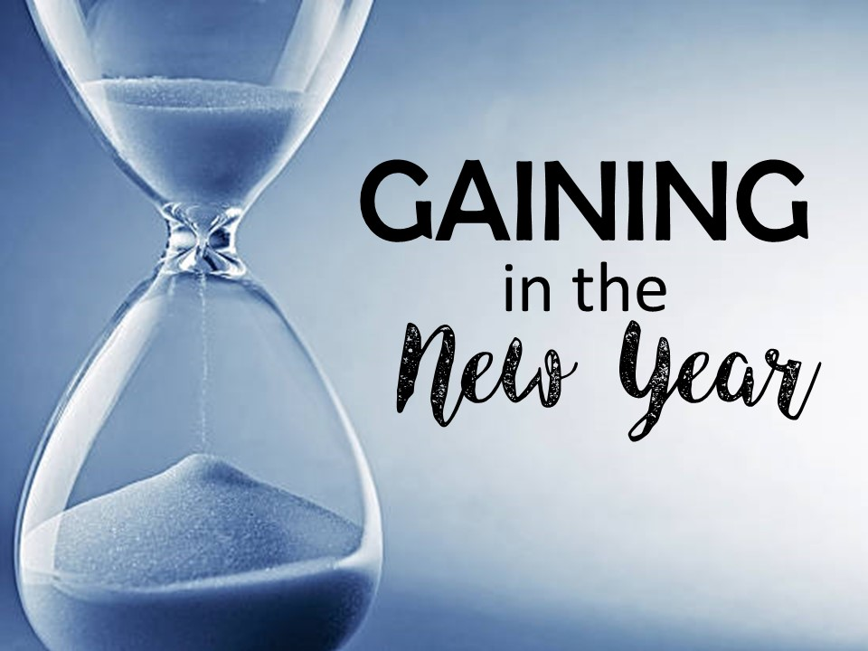 Gaining in the New Year