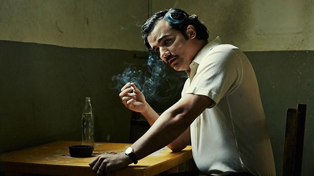 Wagner Moura na pele de Escobar (Foto: NARCOS)