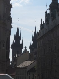 Prague is as-SPIRE-ing. :)