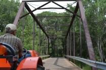 Returning across the Black Bridge.