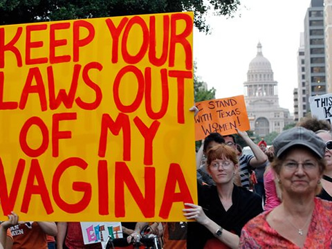 Keep Your Laws Out Of My Vagina - Fair Play For Women