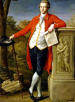 A young gentleman in 1778
