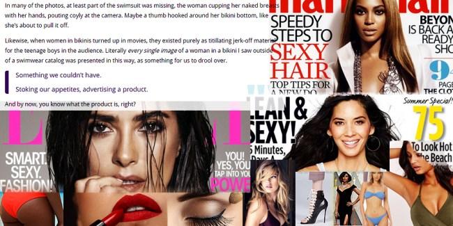 Everyday sexual assaults: women as consumer products: - FairPlayForWomen.com