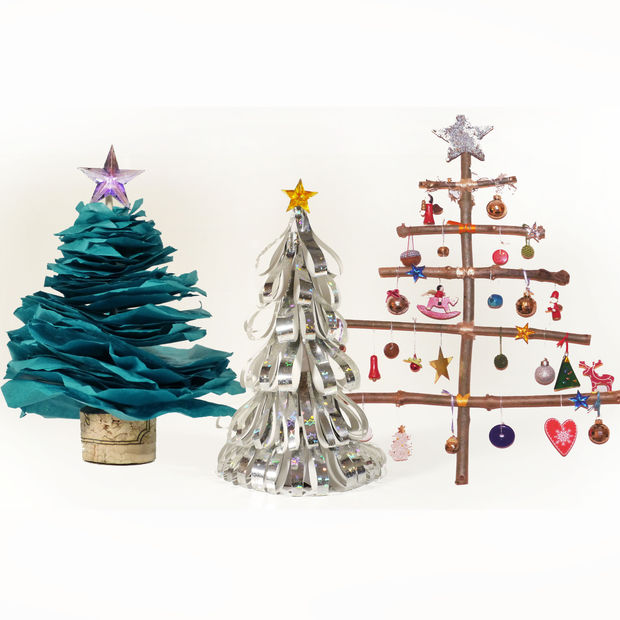 http://www.instructables.com/id/How-to-Make-Christmas-Trees/