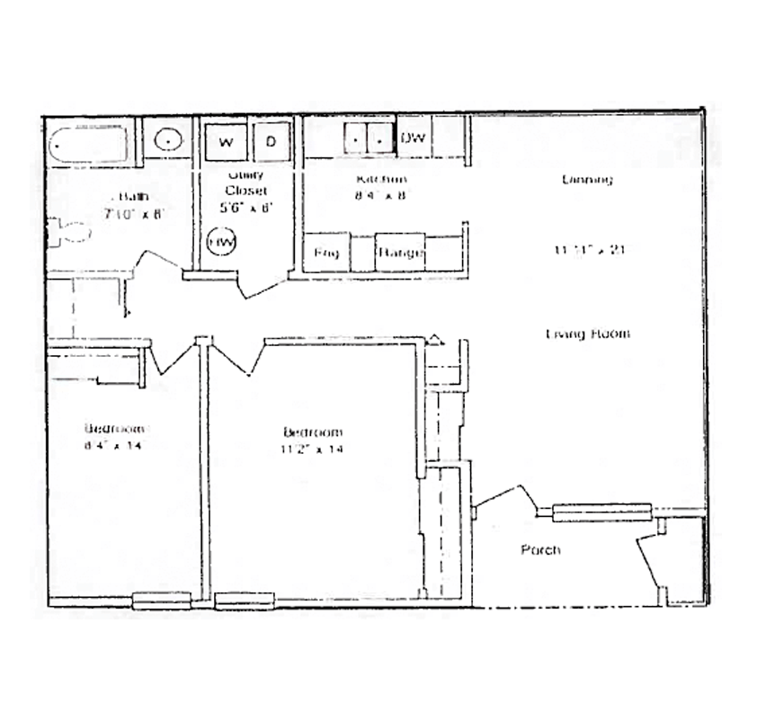Maple View Two Bedroom Apartment