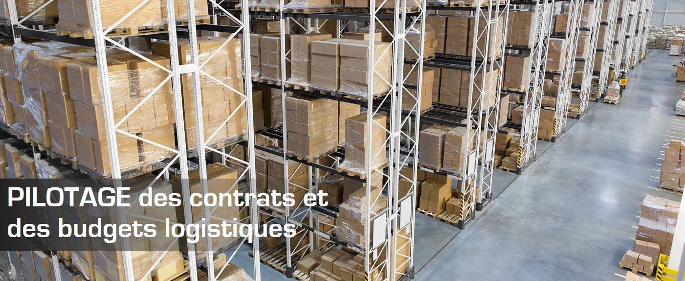 PILOTAGE des contrats et des budgets logistiques