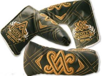 Scotty Cameron 2011 Augusta SC Diamond Leather Headcovers - $180