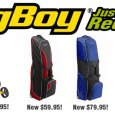 Bag Boy Quad Push Cart and Travel Covers just reduced! Whether you are walking down the fairway or taking a golf vacation, Bag Boy is the best way to move your clubs!