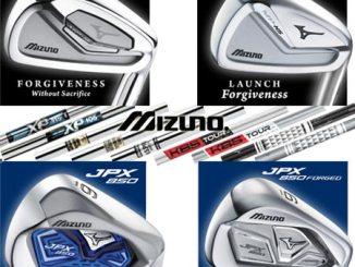 Mizuno custom irons