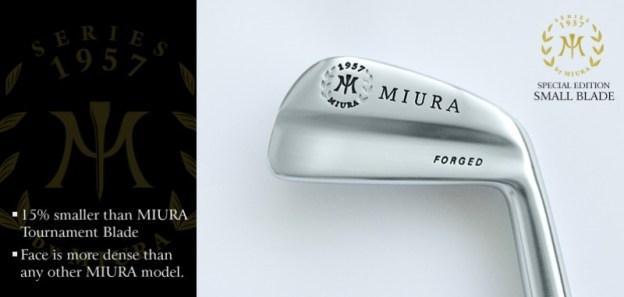 Miura 1957 Small Baby Blade Iron Specs Fairway Golf Blog