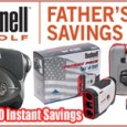 Our Father's Day Special will help all golfers. Bushnell rangefinders are used by the best players and caddies in the world. Now you can purchase one $50 off of the original price! This deal is applicable to the Bushnell: Pro X2 Tour V4 Slope Edition JOLT Patriot Pack Tour V4 Slope Edition JOLT To take advantage of this incredible offer, CLICK HERE!!! Get your gifts for Father's Day at Fairway Golf.