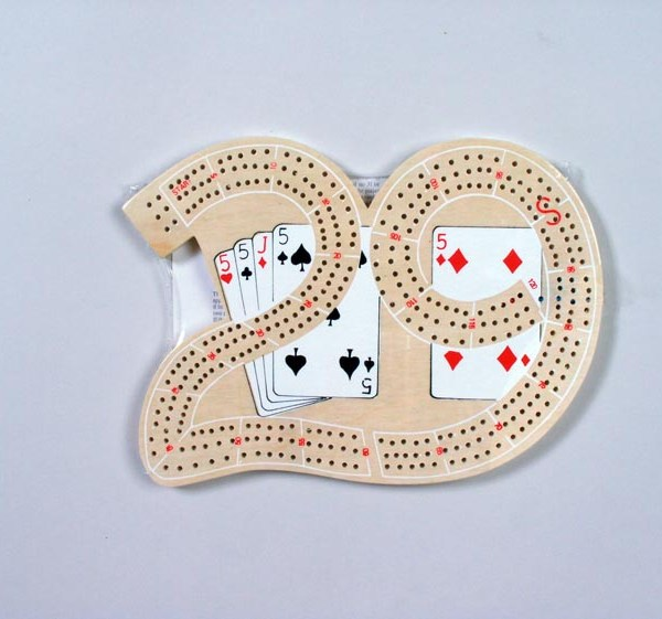 No. 29 Wood Cribbage Board Set   3-4014