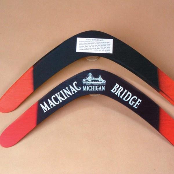 Wooden Boomerang   7-1047