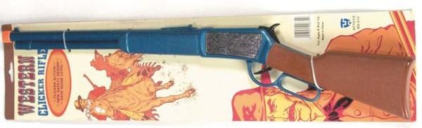 Plastic Western Clicker Rifle   7-672