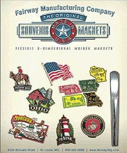 Fairway Manufacturing Company Custom Vinyl Magnet Catalog