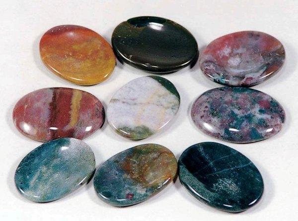 Jasper Worry Stones