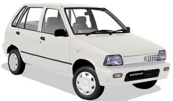 Suzuki Mehran Vx Specifications